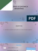 La Crisis Economica Argentina-Desarrollo