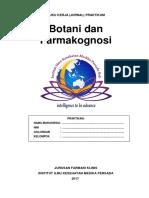 Buku Kerja (Jurnal) Praktikum Farmakognosi 2017 (EDIT)