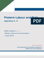 Preterm Labour and Birth Appendices a g2