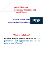 Inflation Meaning Theories