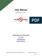 Sms Blocker 1.0.1 User Manual