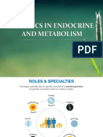 2018 Genetics in Endocrine and Metabolism