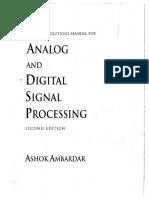 Procesamiento de Señales Analogicas y Digitales, 2da Edición (Solucionario)
