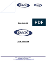 Dax Cars Price List
