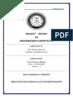 Shareholders Democracy (Corporate Law) 2018