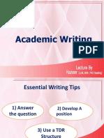 Acdemic Writing