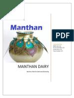 Manthan Dairy_Dahi Manufacturing