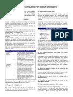Welding Guidelines for Design Engineers - 1
