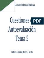 Cuestiones Tema 5