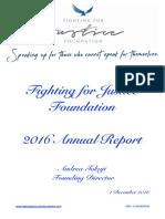 FFJF Annual Report 2016