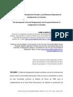El Desarrollo de la Desaparición Forzada y sus Elementos Especiales de Configuración en Colombia.pdf