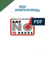 Penyalahgunaan Narkotika Dan Psikotropika