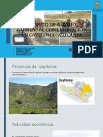 Contaminacion Ambiental en Caylloma