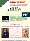 Evolutionary Economics & Environmental Sociology