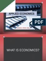 applied economics