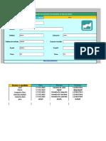 Planilha de Excel Para Agenda Telefônica