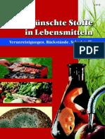 Unerwünschte Stoffe in Lebensmitteln; 2003
