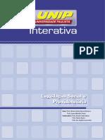Legislação Social e Previdenciária