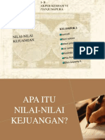 NILAI-NILAI KEJUANGAN