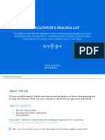 Facilitators Reading List