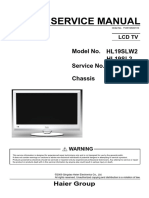 Service Manual HL19SL2a