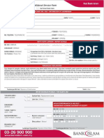 Additional Service Form