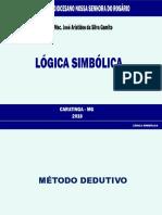 Lógica Simbólica - SDNSR 2018 - 22-06-18