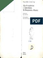 Livro - Atlas de Arquitectura, Generalidades de Mesopotamia a Bizâncio - Werner Muller e Gunther Vogel