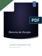 Historia de Google Informatica