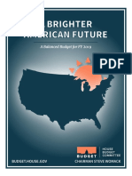 FY19 House Budget Blueprint
