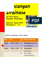 DRAINASE 0 SAP 2014 Rancangan Drainasi