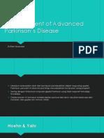 Management of Advanced Parkinson's Disease