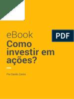 eBook Arena Investidor Como Investir Acoes