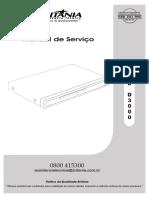 Britânia - DVD D-3000 - Esquema Elétrico