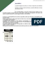 [Cliqueapostilas.com.Br] Tabela de Acordes