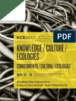 Kce2017 Program Final