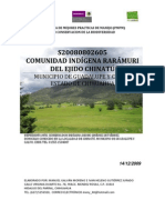 PMPM S20080802605 Comunidad Indigena de Chinatu