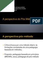 A Perspectiva Pós-método-para Wiki