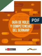 Guia de Roles y Competencias Del Sernanp