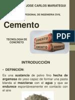 Cap II- Cemento