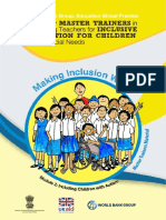 Toolkit for Master Trainers in Preparing Teachers for Inclusive Education for Children with Special Needs_Module 2