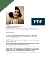 Personajes de Ana Frank