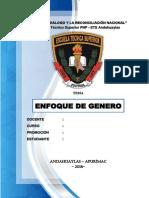 Enfoque de Genero Pnp