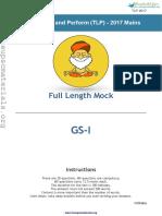 Full Length GS I