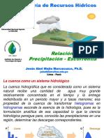 Icta 01 Relacion Precipitacion Escorrentia