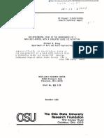 AN EXPERIMENTAL STUDY OF THE AERODYNAMICS OF A NACA 0012