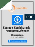 Conteo y Combinatoria - Plataforma Jóvenes - Jovenesweb