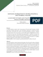 AVELINO, N - Estudos Anarquistas e Teoria Política_ Entre Proudhon e Foucault (Anotado)