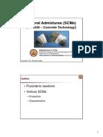 Mineral Admixtures