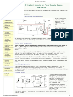 DC Power Supply Design High Voltage